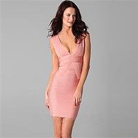 Платья американского дизайнера Herve Leger - соблазнительные силуэты