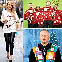 Жуткие новогодние свитеры от звёзд. Не повторять!