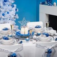 Сервировка стола для встречи Нового 2014 года