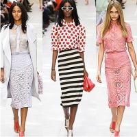Модные цветовые решения сезона весна-лето 2014