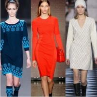 Модные платья сезона осень-зима 2014-2015 г