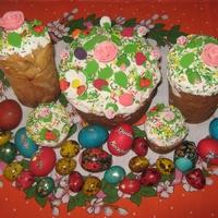 Искусство красить яйца на Пасху