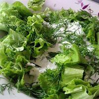 Весенние салатики