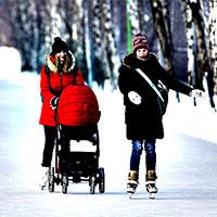 Универсальная зимняя коляска на все случаи жизни